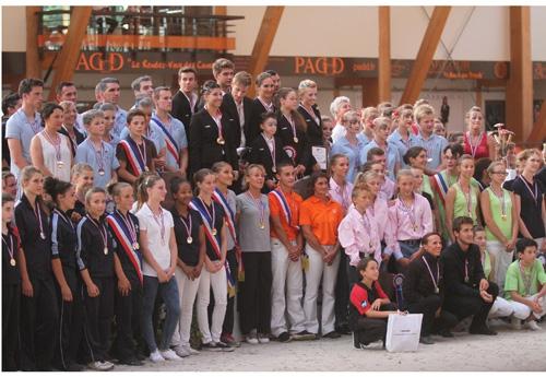 Les champions de France (© Pascale Vacher)