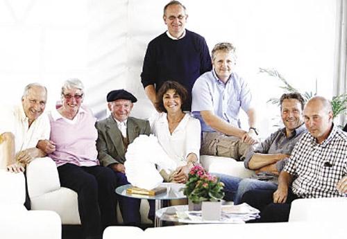 En 2009 lors de la grande semaine de Fontainebleau, ses amis éleveurs lui avaient offert une sympathique réception