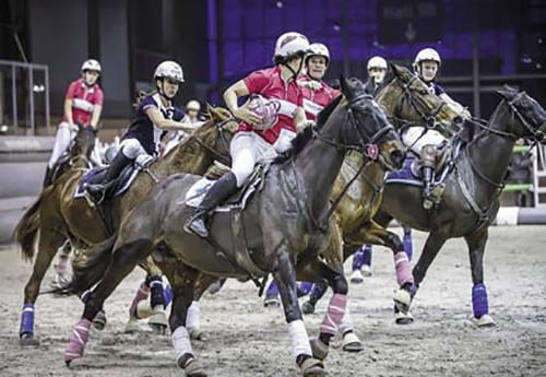 La Paris' Cup de Horse Ball mettra en lumière 8 équipes exclusivement féminines dans une compétition de niveau Pro Elite