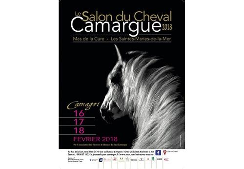4c39d7684f11 Les amoureux du cheval Camargue ont rendez-vous du 16 au 18 février à la  Maison du Cheval Camargue au Mas de la Cure des Saintes-Maries-de-la-Mer  pour la ...