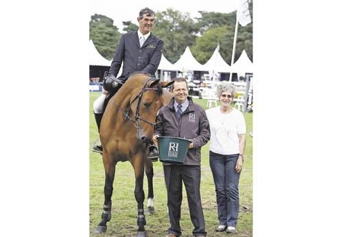 Du chemin parcouru depuis sa victoire au criterium des 5 ans à Fontainebleau avec Jean Le Monze ! (© ER)