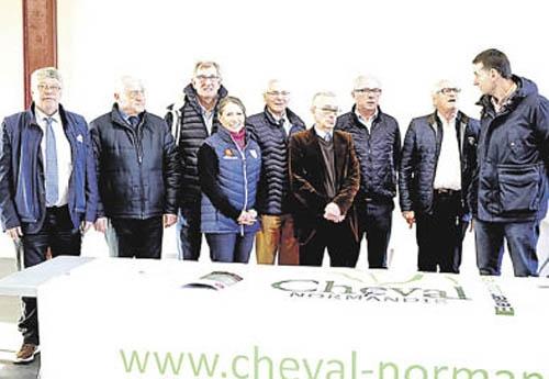 Personnalités et élus de Cheval Normandie