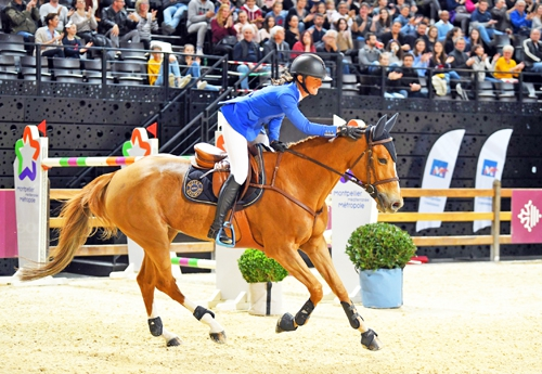 Félicie et Sultane des Ibis (© Jumping International de Montpellier)