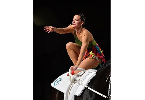 Pour l'Allemande Kristina Boe, 2è, ce sera son dernier concours (crédit LesGarennes)