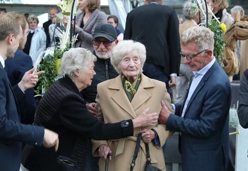 Mme Gayot présente à la remise du trophée Me Jean Gayot