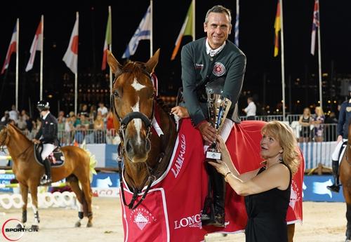 Julien Epaillard et Usual Suspect d'Auge (© sportfot)