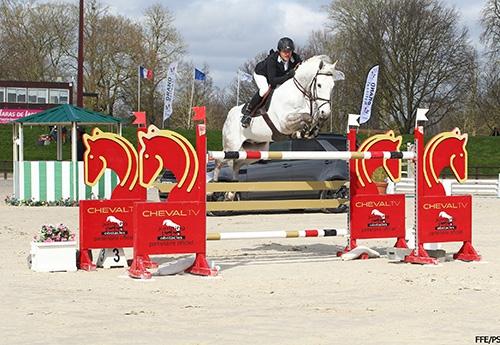 Max Thirouin et Jewel de Kwakenbeek Photo FFE/PSV