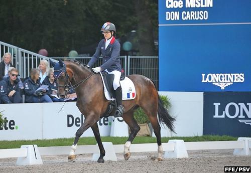 Cloé Mislin/Don Caruso (© FFE/PSV)
