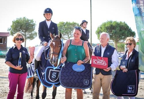 Editionlimitée Rouget championne des 5 ans C (© Sologn'Pony SHF 2019)