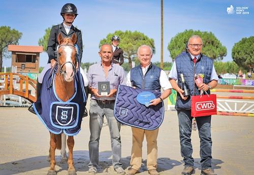 Fandango d'Audes, champion des 4 ans C ((© Sologn'Pony SHF 2019)