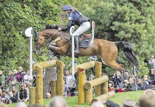Sébastien Cavaillon/Sarah d'Argouges (© Burghley Horse Trials)