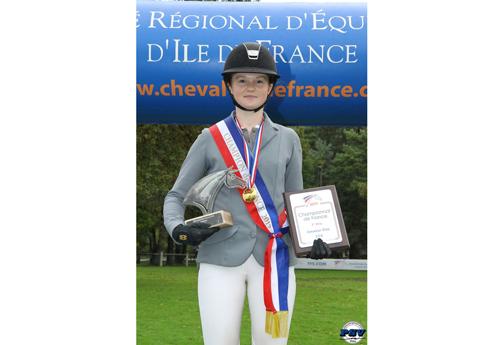 Philippine Bierre, championne de France Amateur Elite