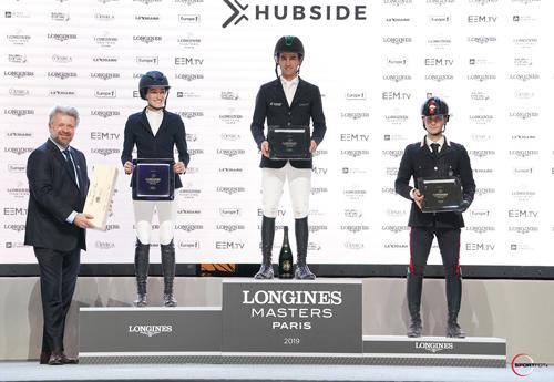 Le podium5* (© Sportfot)