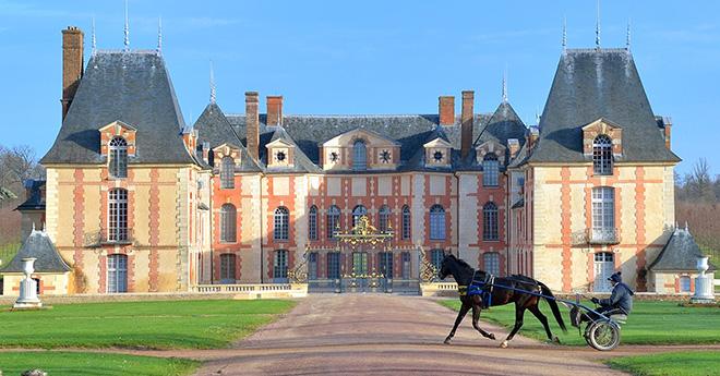 Château de Grosbois – Temple du Trot ( © JLL-LeTROT et CW-LeTROT)