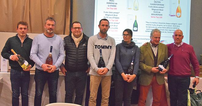 Lauréats Challenge Besserat de Bellefon en présence de Jérémie Paillousse