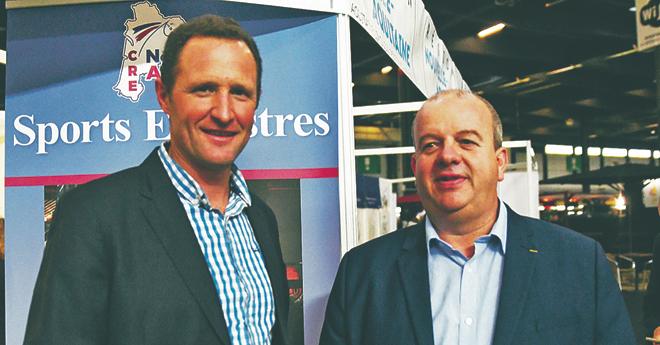 Pierre-Yves Pose et Sébastien Carralot, vice-président du CRE Nouvelle-Aquitaine