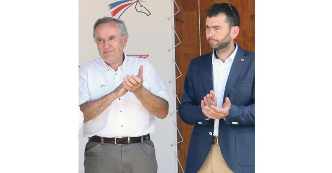 Serge Lecomte et Frédéric Bouix