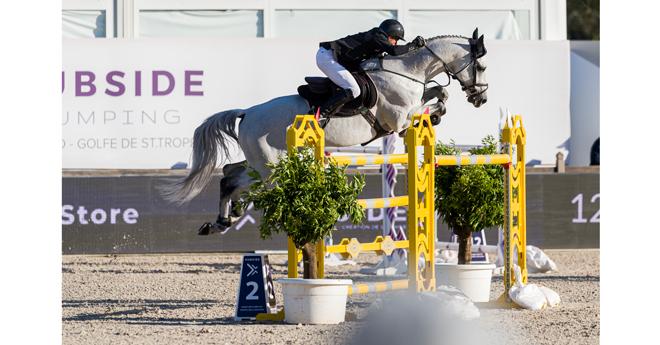 Olivier Robert/Vangog du Mas Garnier (© Hubside Jumping-Marco Villanti)