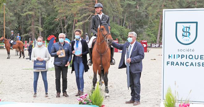 Mâles et Hongres : Groovy Semilly, 5e élite avec Alexis Gourdin