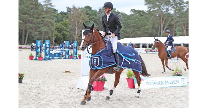 Galaa la Marsa championne des 4 ans avec Edouard Fiocre