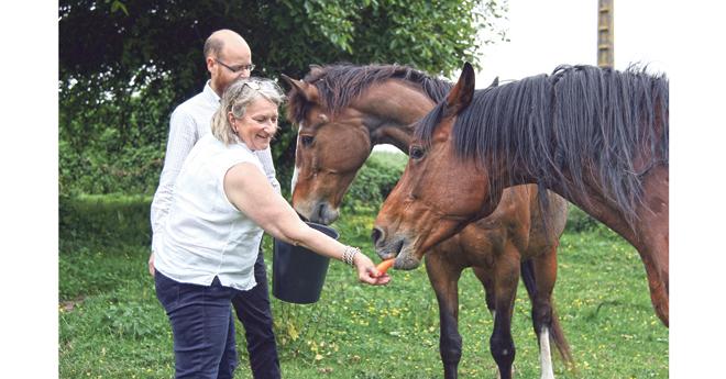 La présidente du groupe d'étude cheval à l'Assemblée Nationale est également cavalière et propriétaire