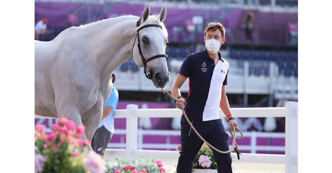 Simon Delestre et Berlux Z feront leur entrée dans l'épreuve par équipes de saut d'obstacles des Jeux olympiques à Tokyo prévue vendredi 6 août (© FFE/PSV)