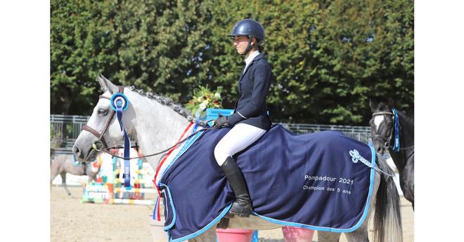 5 ans poneys : G RêVée d'Azy/Loan Picone