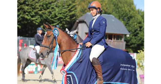 4 ans poneys : Habbypop des Martels/Constance Léger