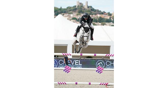Le cavalier installé dans les Vosges s'empare du Grand Prix 1,50m avec Stalognia ©Sportfot –Hubside Jumping