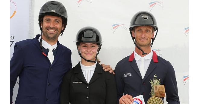 Les vainqueurs de l'édition 2021 : Raphaël Cochet, Lisa Gualtieri et Christopher Six